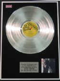 THE ROLLING STONES -  LP  Platinum  Disc  - STICKY FINGERS